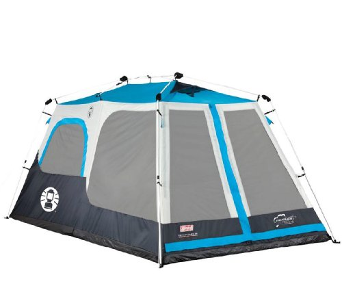 New! Coleman 8 Person Instant Tent 2 Rooms Waterproof Family Camping - 14' X 8' front-982570