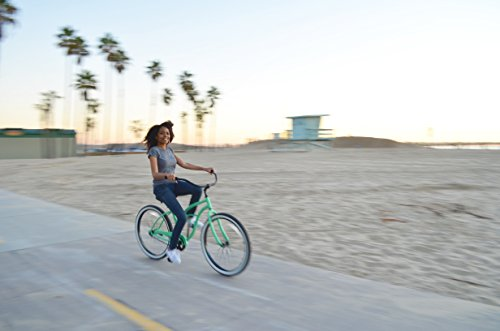 sixthreezero Around The Block Women's 1-Speed Cruiser Bike, 17