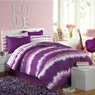 Purple Tie Dye Bedding 781 front