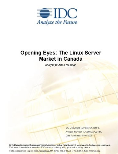 Opening Eyes: The Linux Server Market in Canada