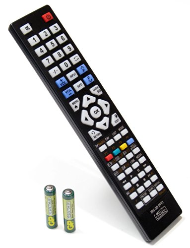 replacement-remote-control-for-videocon-vu263ld-batteries-included