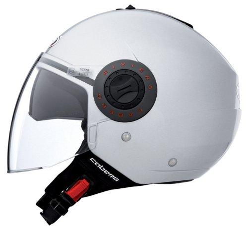 Caberg Riviera V2+ Motorcycle Helmet L Silver