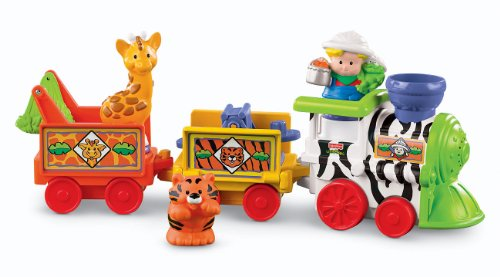 Fisher-Price Little People Tren Musical Zoo