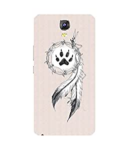 Feather And The Pow Gionee Marathon M5 Case