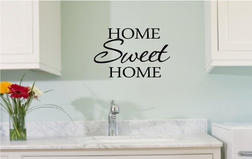 Sale Home sweet home Vinyl wall art Inspirational quotes