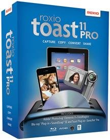 Popular Roxio Inc Toast 11 Pro Built-In Video Tutorials Printable Step-By-Step Instructions Sm Box