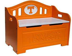 Fan Creations Tennessee Volunteers Storage Bench by Fan Creations