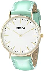 Breda Women's 1678C Analog Display Quartz Green Watch