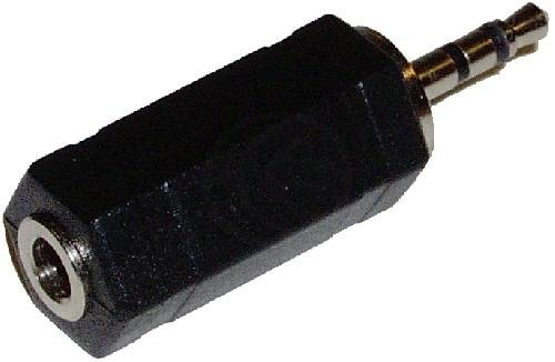 Cablematic - Stereo-Audio-Adapter (3,5 mm Jack--H/Jack-2.5mm-M)