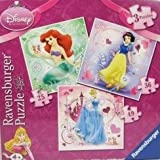 Disney Princess x3 Puzzle (25, 36, 49 piece)