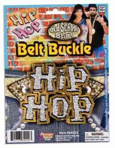 Hip Hop Belt Buckle Accessory