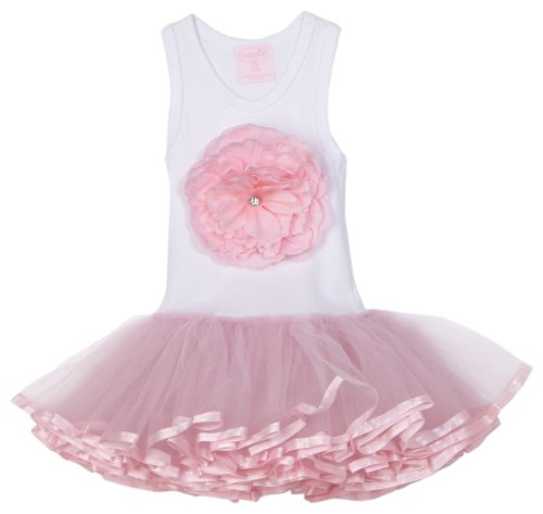 Mud Pie Baby Buds Tutu Dress, Pink, 0 - 6 Months