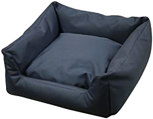 Bronte Glen Trojan Waterproof Cosy Dog Bed, Large, Blue