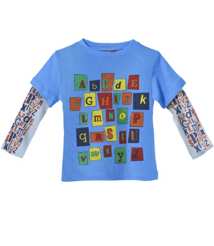 City Threads Big Boys' Abc 2Fer In Bright Blue (C) 12 front-760960