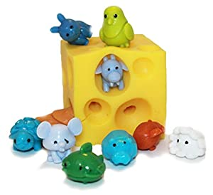 Squishy Stretchy Animals : Amazon.com: Stretchy Cheese Bundle with Squishy Animals: Toys & Games