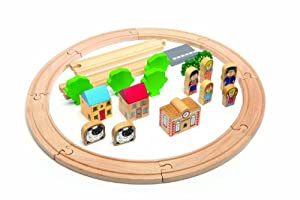 Tidlo Track and Accessory Pack (29 Pieces)