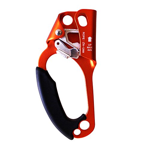 gm-climbing-left-hand-climbing-ascender-orange-for-vertical-rope-activities