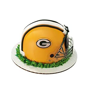 NFL Green Bay Packers Faces Cake Topper