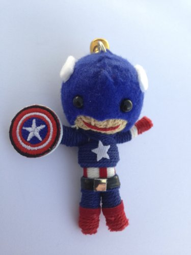 String Doll World - String Doll Keychain - The Winter Soldier Captain America - 1