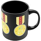 PosterGuy No. 1 Big Bro Gift For Brother Black Coffee Mug