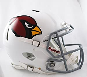 Victory Collectibles 3001624 Rfa Arizona Cardinals Full Size Authentic Speed Helmet by Victory Collectibles
