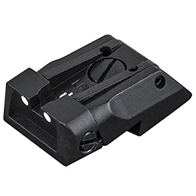 Full Adjustable White Dot Rear Sight from Fusion