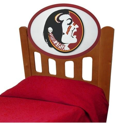 Cheap FSU Florida State University Kids Wooden Twin Headboard With Logo (C0526S-Florida State)