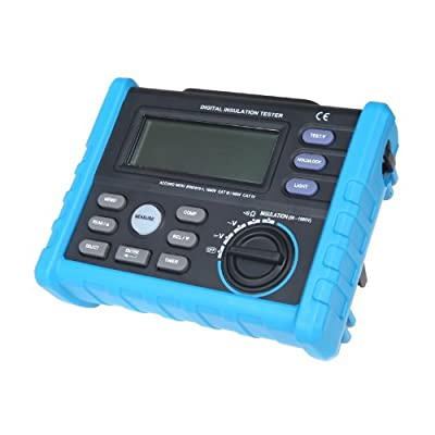 Docooler Digital Insulation Tester Meter 250V~2500V 0.01M¦¸~100.0G¦¸ Multimeter