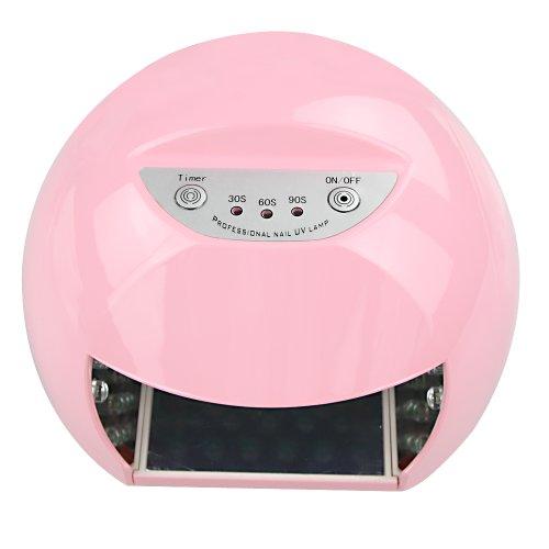 Asmart Center 12W Led Uv Gel Lamp Light Curing Acrylic Nail Gel Nail Polish Dryer Drying Kit