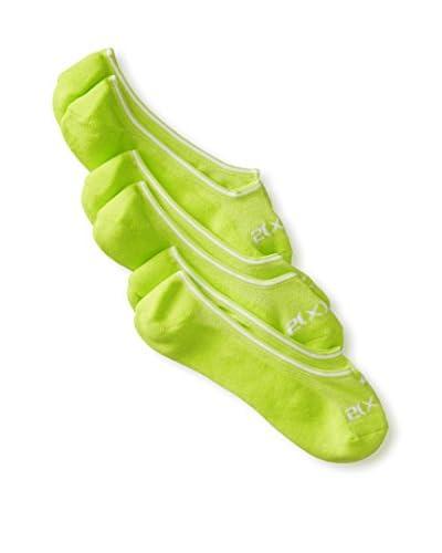 2(X)IST Men's Athletic Liner Bright Socks- 3 Pack