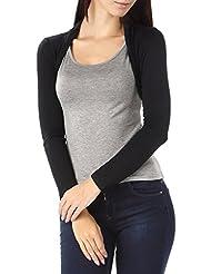 43824da24ee Bepei® Women Lady Soft   Cute Long Sleeved Slim Bolero Shrug Top