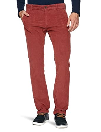 Tommy Hilfiger Fallon FA12 CRD GD Slim Men's Trousers Burnt Russet W32 INxL34 IN