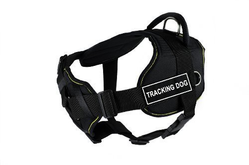 dean-tyler-fun-works-tracking-dog-harness-with-padded-chest-piece-large-fits-girth-size-81cm-to-107c