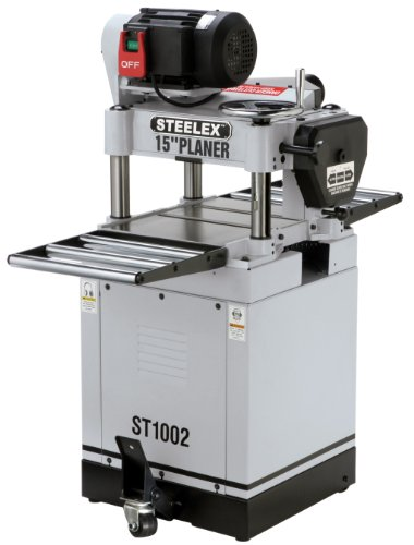 Steelex ST1002 15-Inch Planer With Built-In Mobile Base