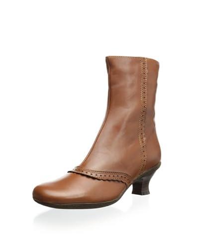La Canadienne Women's Tiara Winter Boot  - Camel Leather
