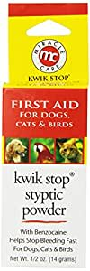 Kwik Stop Styptic Powder For Pets 1/2 Oz