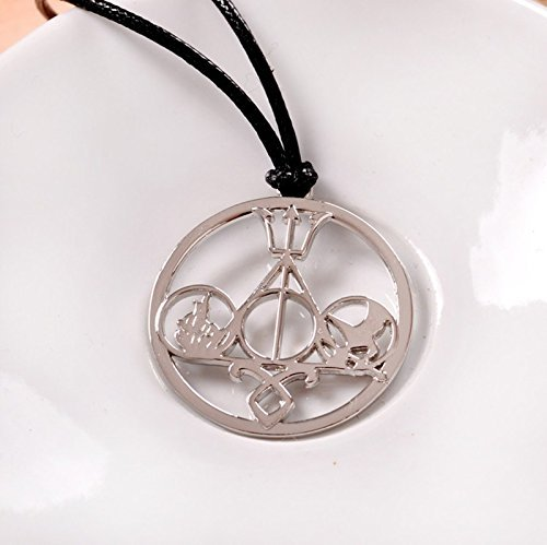 The Novel Classic Movie Necklace Mix the Mortal Instruments /Hunger Games Divergent/ Percy Jackson/ Harry Potter