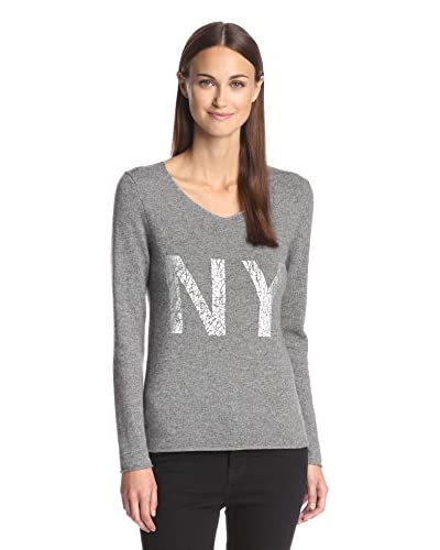 Kier & J Women's NY V-Neck Sweater