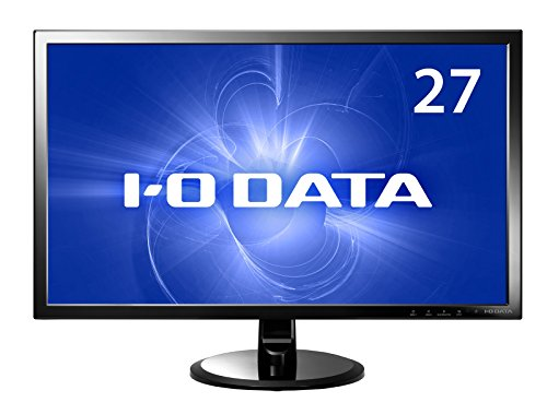I-O DATA 27型ADS広視野角パネル 液晶(フルHD/HDMI/ちらつき無し/ブルーリダクション機能/オーバードライブ機能搭載) DIOS-MF271XDB