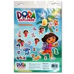 Dora the explorer wall sticker kit toys games for Dora the explorer wall mural