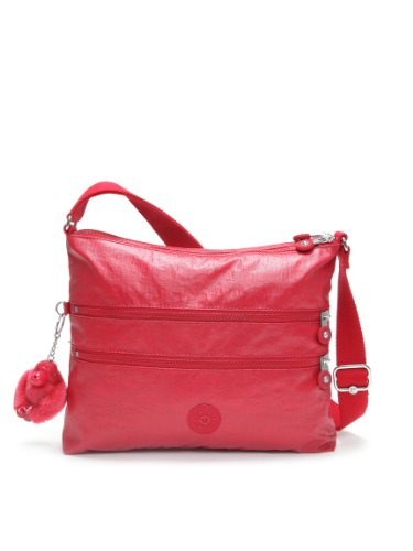 Kipling Alvar Shoulder / Across Body Bag (Lacquer Red)
