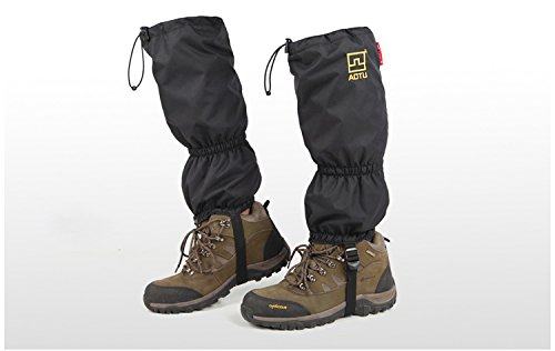 Aotu 2pcs Waterproof Protective Gaiters Outdoor Camping Hiking Windproof Warm