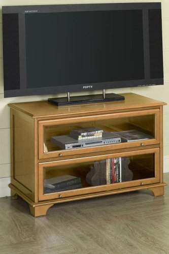 Wide-screen Tv Stand Classic Oak