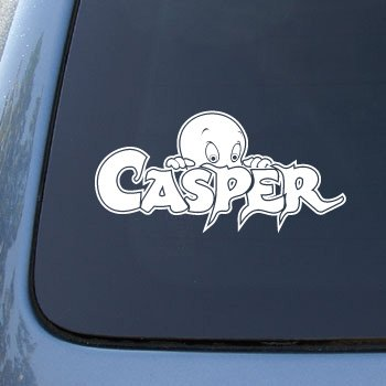 Casper The Friendly Ghost White Vinyl Decal