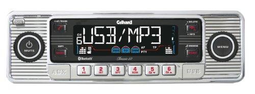 Gelhard Classic 40 RDS-Autoradio mit MP3/WMA/CD,USB,SD/MMC,Bluetooth-Freisprecheinrichtung