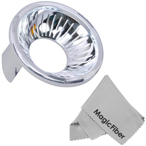 Silver Dome Cover (For Lambency Flash Diffuser) + Magicfiber Microfiber Lens Cleaning Cloth