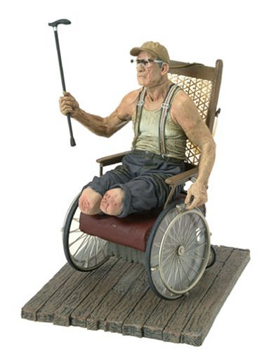 McFarlane Toys Movie Maniacs Series 7 Action Figure Texas Chainsaw Massacre Old Monty