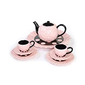 Mud Pie Baby Perfectly Princess 8-Piece Tea Set