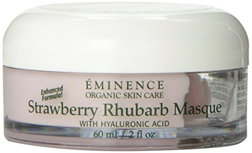 Eminence Rhubarb Masque Skin Care, Strawberry, 2 Ounce