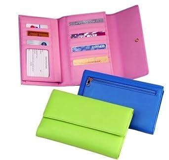 Ladies Checkbook Clutch Wallet